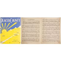 """""""Placer County"""" Sheet Music  (88244)"""