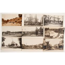 Steet Scenes Real Photo Postcard Collection  (88262)