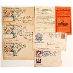 Fair Related Advertising Postal Covers  (88243)