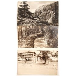 Spaulding Dam Real Photo Post Cards  (88265)