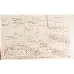 December 1878 Sutro Tunnel Collection (correspondence, notes on Issac Requa, connecting to Savage Mi