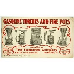 Gasoline Torches and Fire Pots Catalog  (88209)
