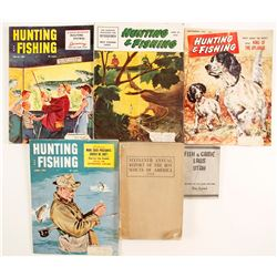 Hunting, Fishing, Scouting Magazines and Books  (86464)