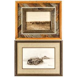 Two Photographic Prints of the West  (43851)