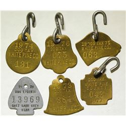 White Pine County Dog Tags  (86378)