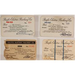 Pacific Electric Railway Co. Pass Group  (59923)