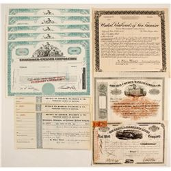 Rails & Other Stock Certs.   (86833)