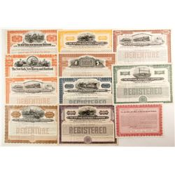 The New York, New Haven and Hartford Railroad Co, suite of bonds  (88919)