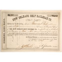 New Orleans Belt Railroad Co  (87037)