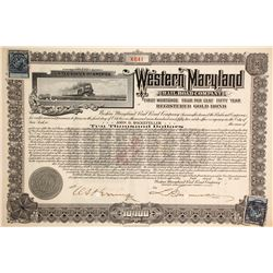 Western Maryland Railroad Co Bond  (86978)
