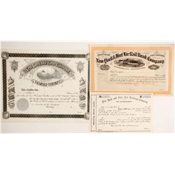 Unissued New York/New Jersey RR stock  (87071)