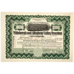 Pittsburgh & Allegheny Valley Traction Co  (83814)