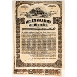 West Chester, Kennett and Wilmington Electric Railway Co. bond  (86973)