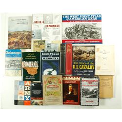 Military Books, Revolution to WWII (16)  (86225)