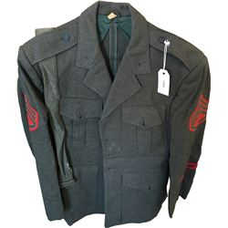 Korean War era U.S. Marine Corps Dress Green Jacket  (75959)
