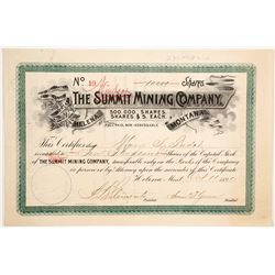 Summit (scratched out and Windsor handwritten) Mining Company  (87977)
