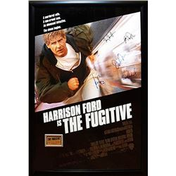 The Fugitive Signed Movie Poster