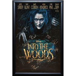 Into The Woods Signed Movie Poster