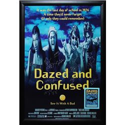 Dazed and Confused Signed Movie Poster