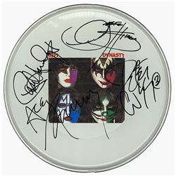 "KISS ""Dynasty"" Signed Drum Head"