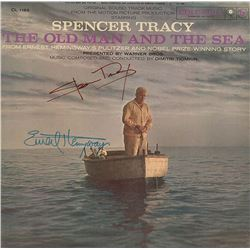 "Ernest Hemingway & Spencer Tracy ""The Old Man and The Sea"" Signed Soundtrack Album"