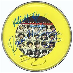 The Rolling Stones Signed Drum Head