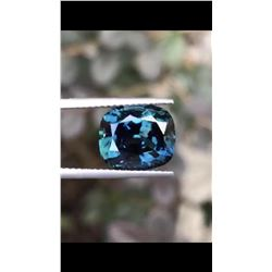 Natural Rare Greenish Blue Sapphire 5.63 Ct Certified