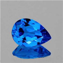 NATURAL AAA  SWISS BLUE TOPAZ 14x10 MM - FL