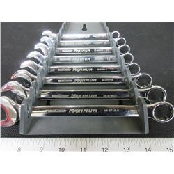 MasterCraft Maximum Wrenches 8 piece Metric / 9 - 18mm/wrenches only