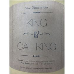 New KING Premium 3 piece Duvet Cover