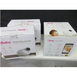 I Baby Monitor model M6S with 2 wall mount kits/can be used in any room