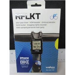 Wahoo RFLKT  I-Phone power Bike Computer/bluetooth