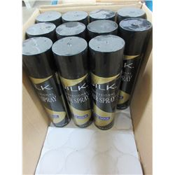 11 Silk Hairspray Mega Hold 8 oz spray