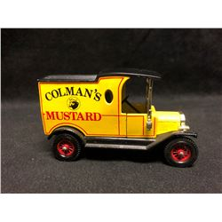 "Matchbox Models of Yesteryear - 1912 Ford Model T ""Colman's Mustard"" - 1978"