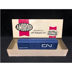 AMBROID HERITAGE LINE CANADIAN NATIONAL BOX CAR
