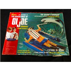 ORIGINAL HASBRO THE ADVENTURES OF GI JOE FROGMAN SUBMARINE IN BOX