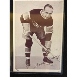 ORIGINAL 1935 CROWN BRAND HOWIE MORENZ 5 X7 CARD