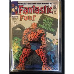 MARVEL COMICS FANTASTIC FOUR NO.51