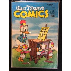1947 WALT DISNEY'S COMICS & STORIES VOL. 7 NO. 6  (DELL COMICS)