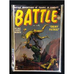 BATTLE #16 (ATLAS COMICS)