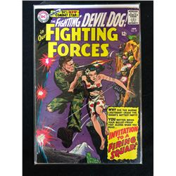 THE FIGHTING DEVIL DOG! IN OUR FIGHTING FORCES #97 (DC COMICS)