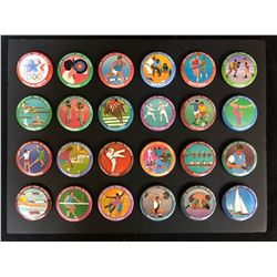 1984 LOS ANGELES OLYMPIC BUTTON SET