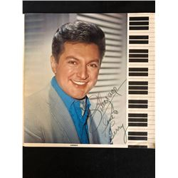 LIBERACE SIGNED PROGRAM INSCRIBED LOVE TO TERRY
