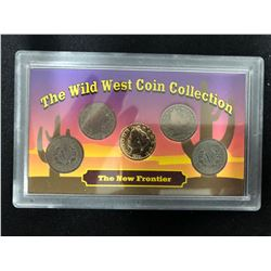 THE WILD WEST COIN COLLECTION NEW FRONTER