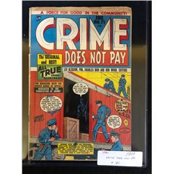 1949 CRIME DOES NOT PAY #71 (PDC)