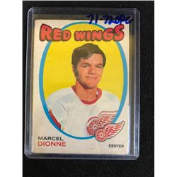 1971-72 OPC O-Pee-Chee MARCEL DIONNE RC #133 Detroit Red Wings Hockey Card