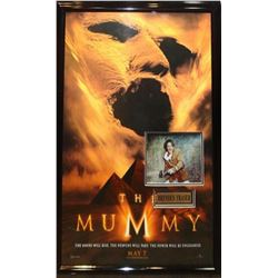 Mummy - Signed Photo in Movie Poster