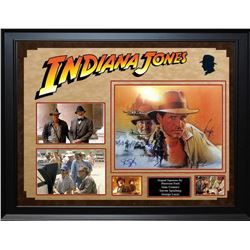 Indiana Jones and The Last Crusade - Signed Collage