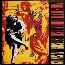 "Guns N Roses Signed ""Use Your Illusion I"""
