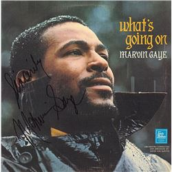 "Marvin Gaye ""What's Going On"" Signed Album"
